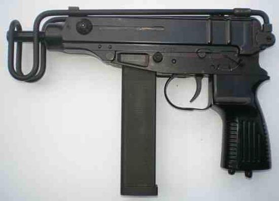 Травматический пистолет-пулемёт Scorpion Sa vz. 61