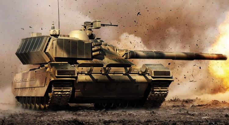 Новый танк Армата