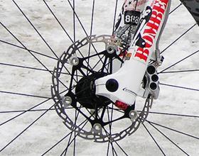 Тормозные колодки на велосипед