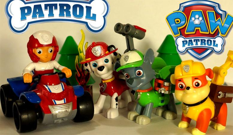 Щенячий патруль - игрушки