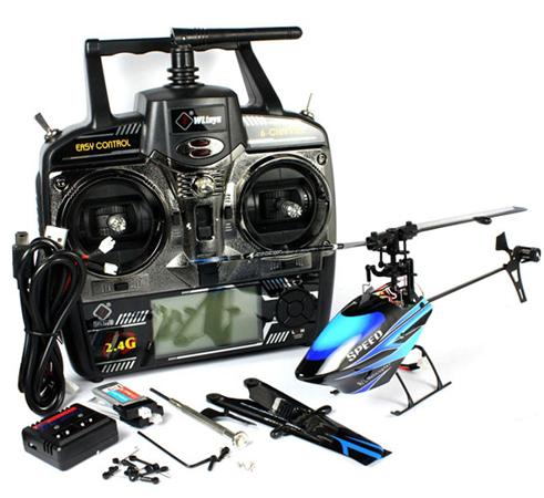 WL Toys Flybarless 2.4G