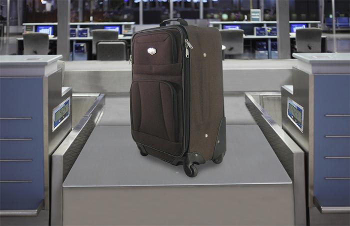 Багаж на весах