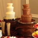 Сколько стоит шоколадный фонтан