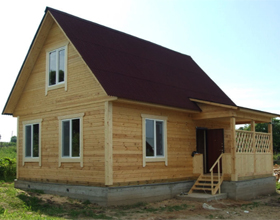 Сколько стоит построить дом из бруса