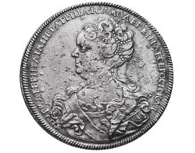 Сколько в среднем стоит монета 1 рубль 1725 года