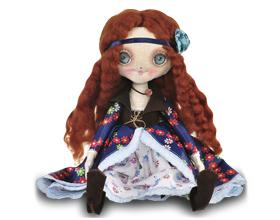 Сколько стоит текстильная кукла ручной работы