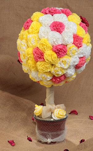 Цветочный топиарий