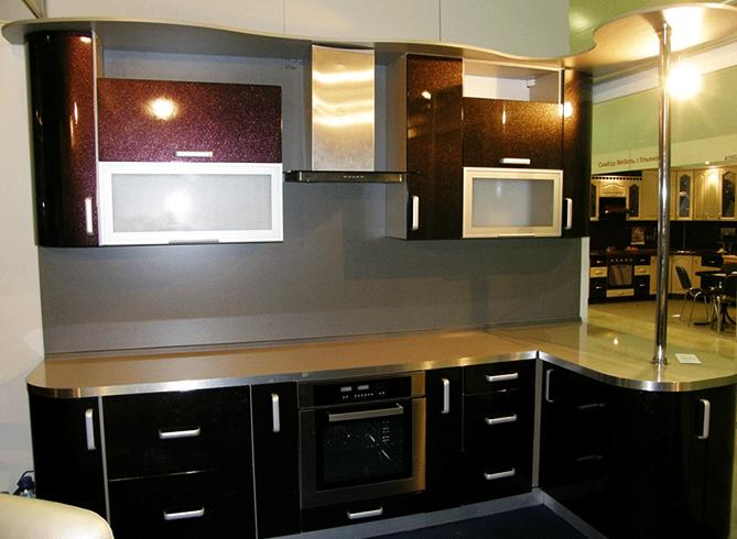 Новая встроенная кухня