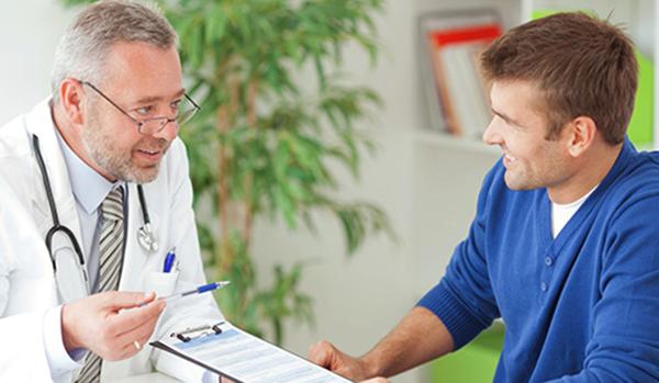 Беседа врача и клиента