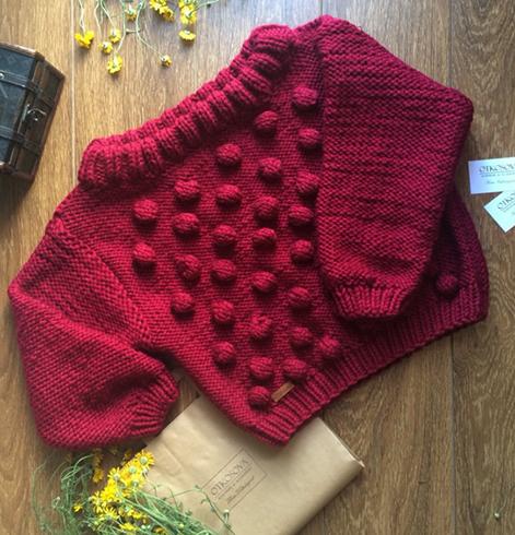 Новый вязаный свитер