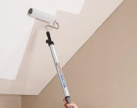 Сколько стоит побелить потолок