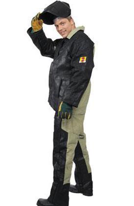 Спилковый костюм
