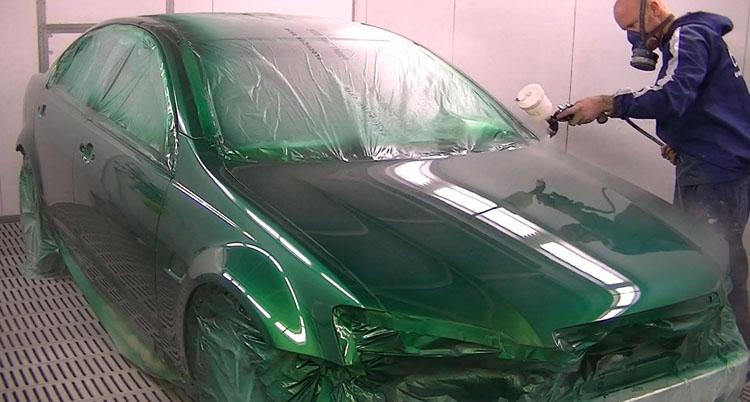 Покраска авто профессионалом