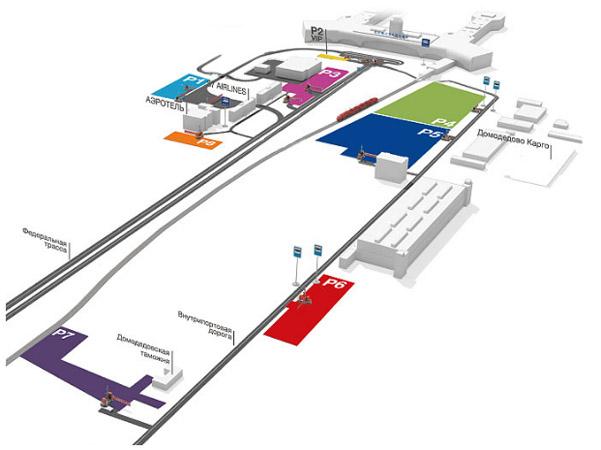 Карта парковочных зон