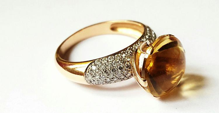 Кольцо из золото 585 пробы