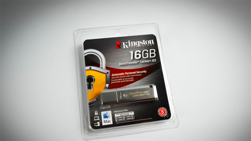 Kingston DataTravelerLocker+ G3