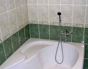Укладка плитки в ванную