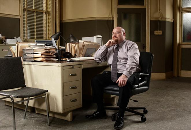 Частный детектив на рабочем месте