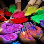 Сколько стоят краски холи.Состав красок