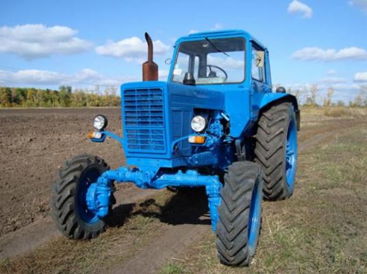 Новый трактор МТЗ 82