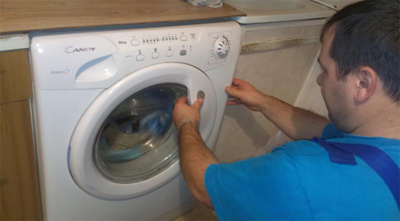 Мастер и стиральная машина