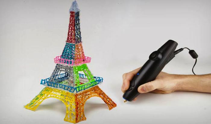 3D ручка в действии
