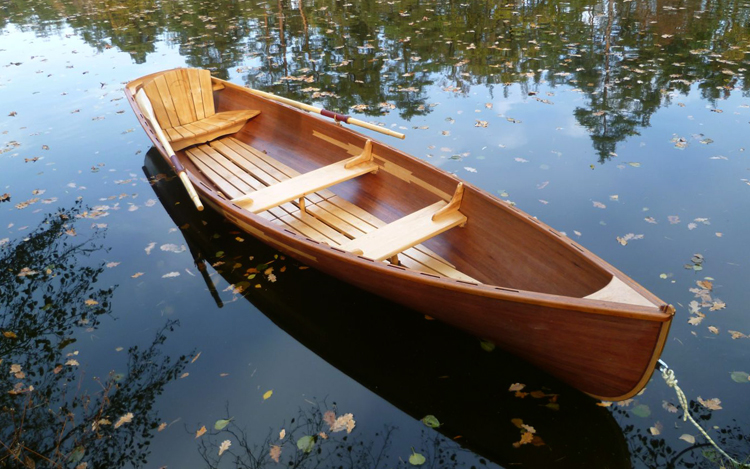 Лодка на плаву
