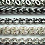 Мужская серебряная цепочка на шею: виды и сколько стоит