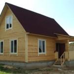 Сколько стоит построить дом из бруса и от чего зависит цена
