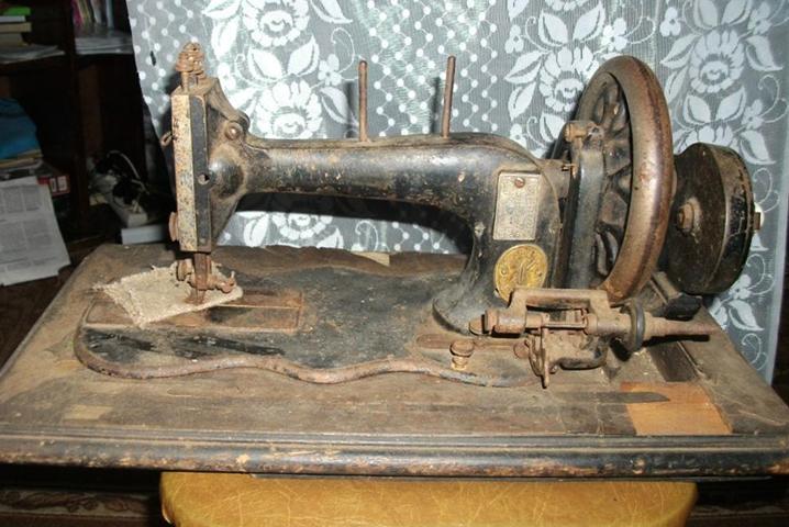 Старинная машинка