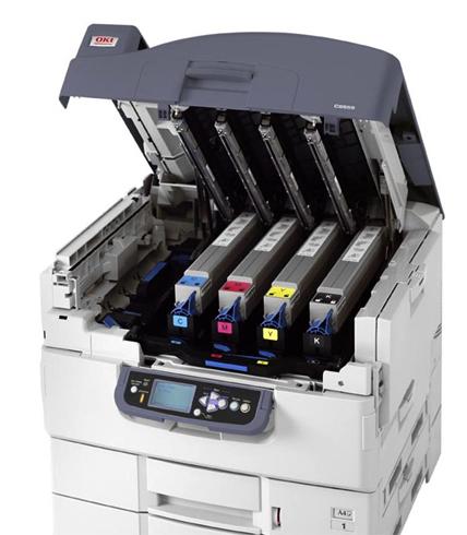 Принтер с картриджами