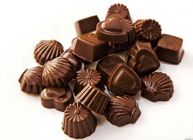 Красивые шоколадные конфеты