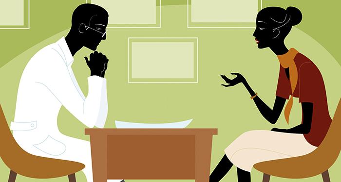 Диалог с психотерапевтом