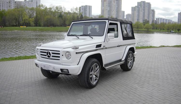 Mercedes-Benz G Gelandewagen — цена 2 000 рублей в час