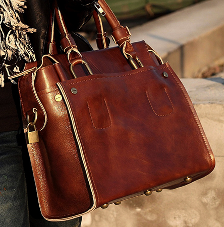 Женщина с красивой сумкой