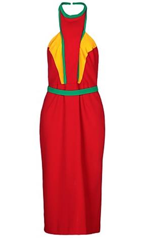 Платье из крепа, цена — 7 000 руб.