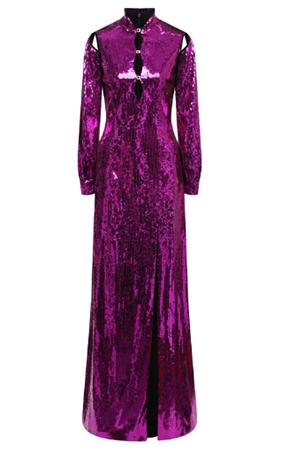 Платье с пайетками — цена 900 000 рублей