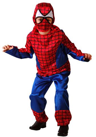 Мальчик в костюме человека паука