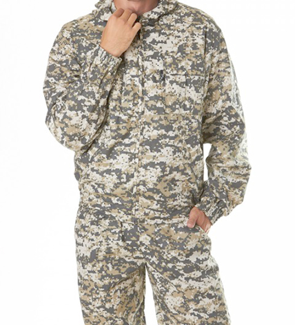 Простой камуфляжный костюм — цена 1 250 рублей
