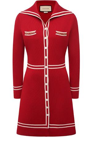Шерстяное платье — цена 148 000 рублей
