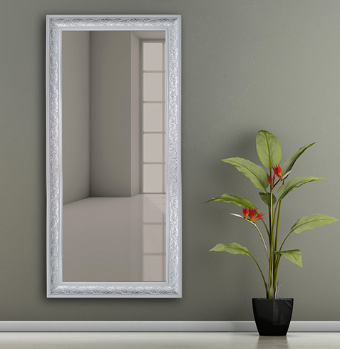 Зеркало и цветок