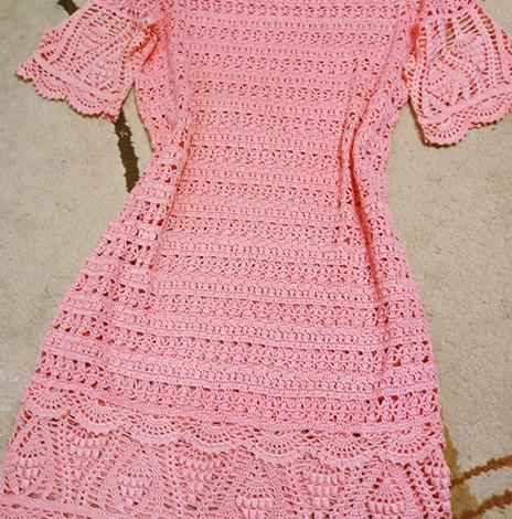 Ажурное платье за 8 000 рублей
