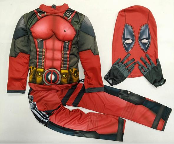Комплект костюма дэдпула