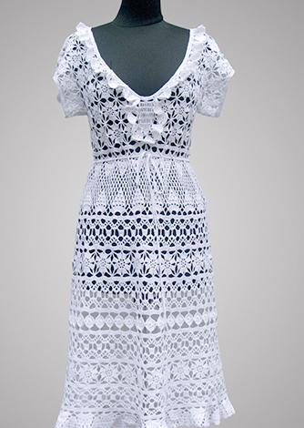 Летнее хлопковое платье за 25 000 рублей