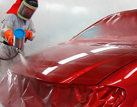 Сколько в среднем по России стоит покрасить капот машины