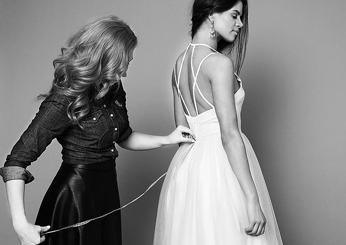Замеры платья