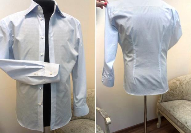 Свежая рубашка