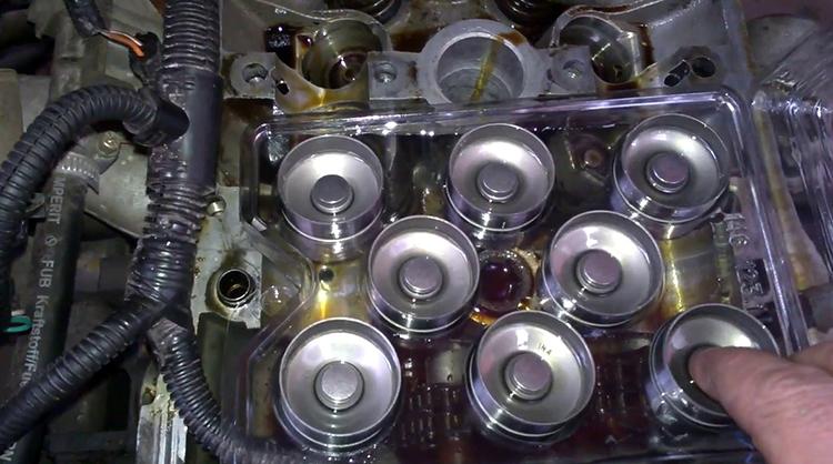 Стоимость замены гидрокомпенсаторов на приоре 16 клапанов