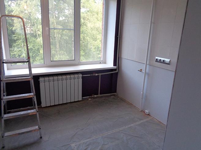 Квартира во время ремонта