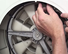 Cколько в среднем стоит замена ремня стиральной машины?